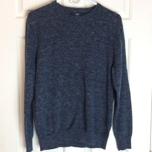 J.Crew Navy Crew Neck Sweater Sz Med Host Pick!🎉